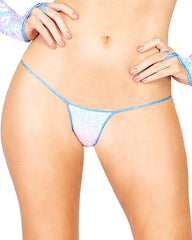 Sequin Cheeky String Thong Bottoms