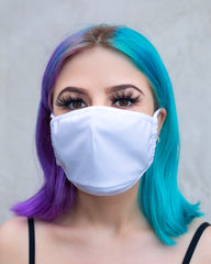 White Surgical Face Mask With Filter (ADULT and KIDS sizes)