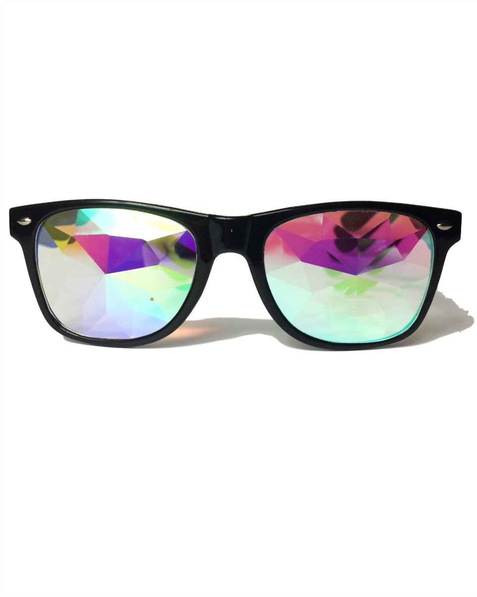 Kaleidoscope Wayfarer Glasses