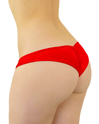 Basic Low Rise Scrunch Back Bottoms