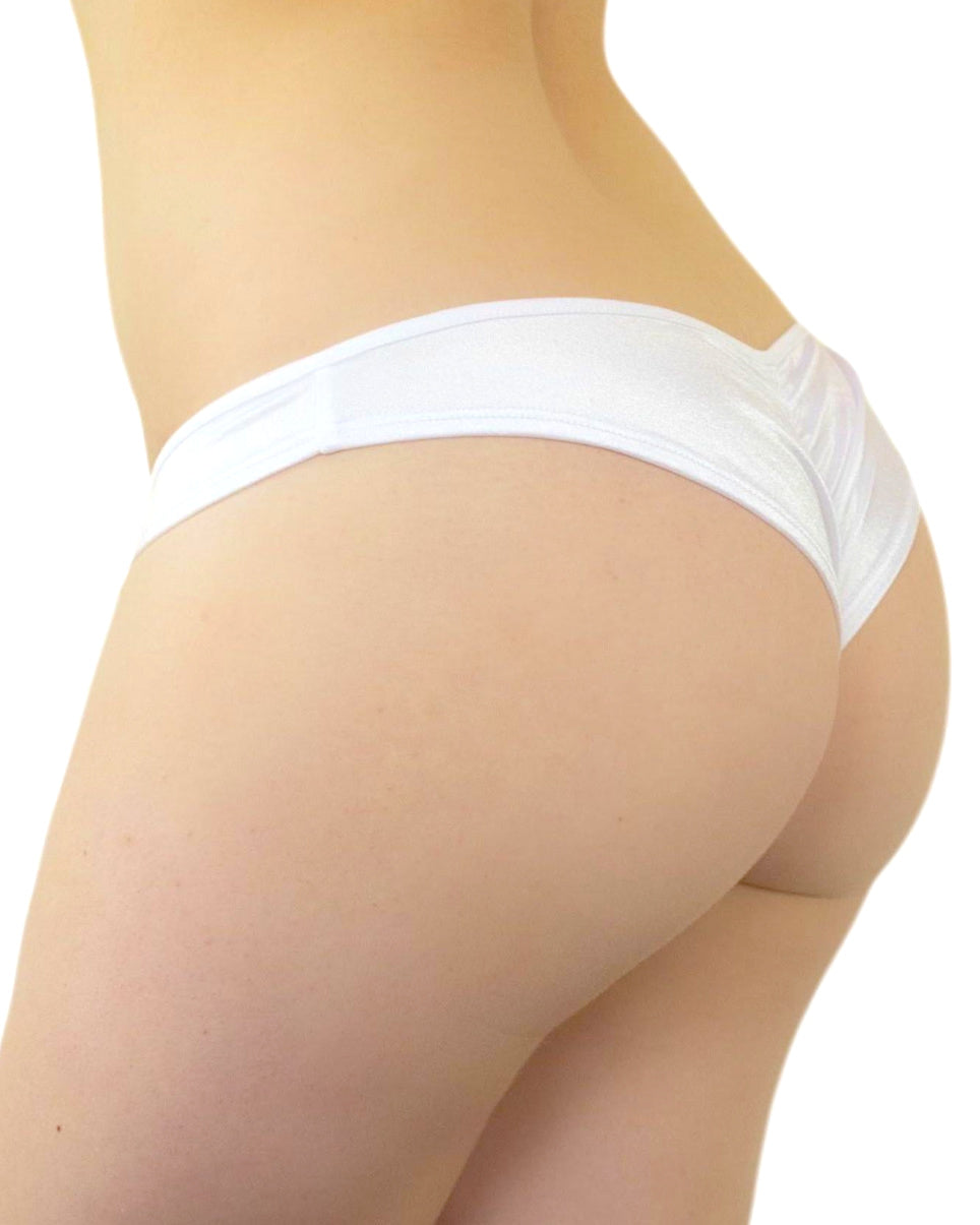 Basic Low Rise Scrunch Back Bottoms (Available In 6 Colors)