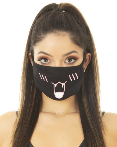Phat Kat Black Surgical Mask