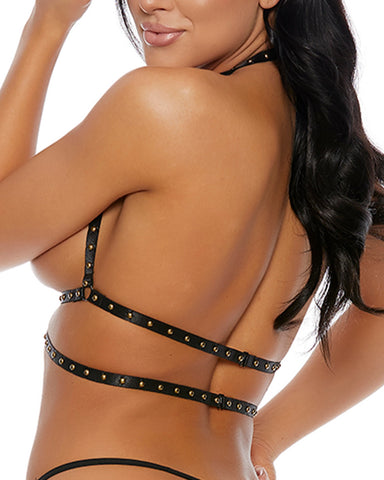 Cross My Heart Studded Harness