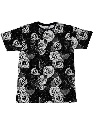 BW Floral Men's Tee