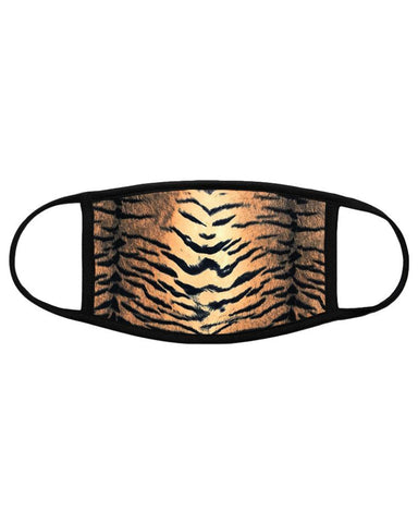 Tiger Velvet Surgical Face Mask