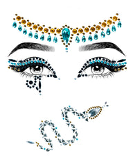 Cleopatra Goddess Adhesive Face Jewels Sticker