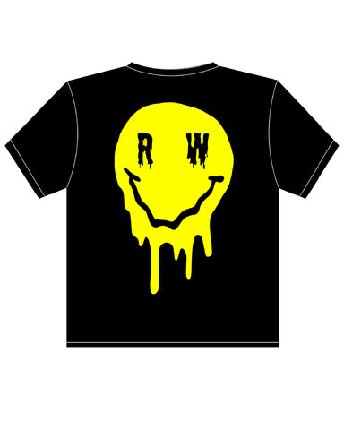 Melting Smiley Rave Wonderland T