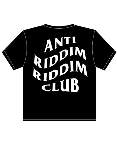 Anti Riddim Riddim Club White T