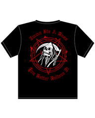 Imma Die a Boss Red Skeleton T