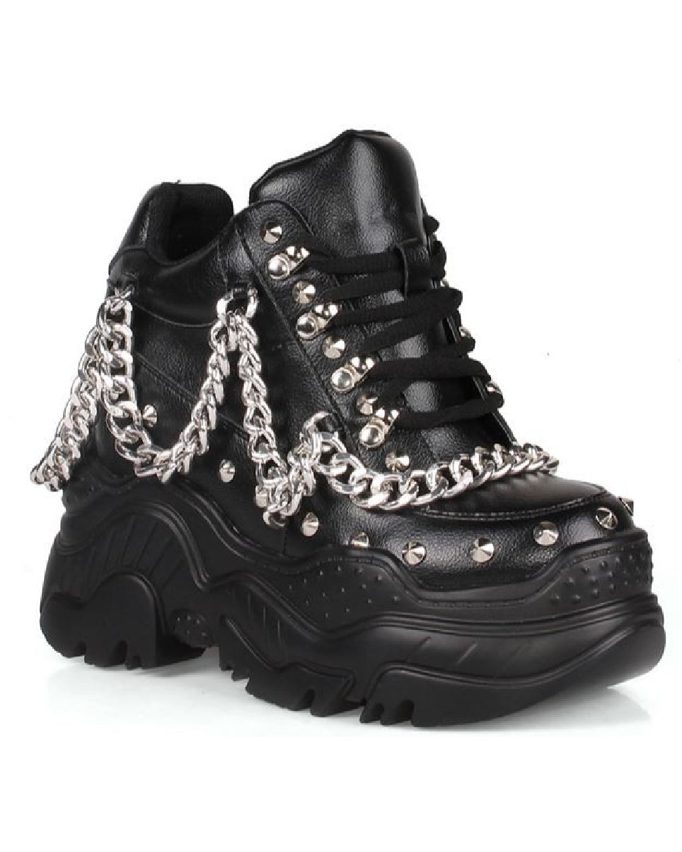 Chained Space Candy Stacked Sneakers