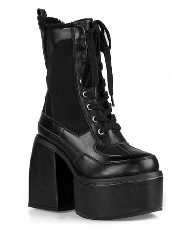 Closer To Heaven Black Chunky Platform Boots