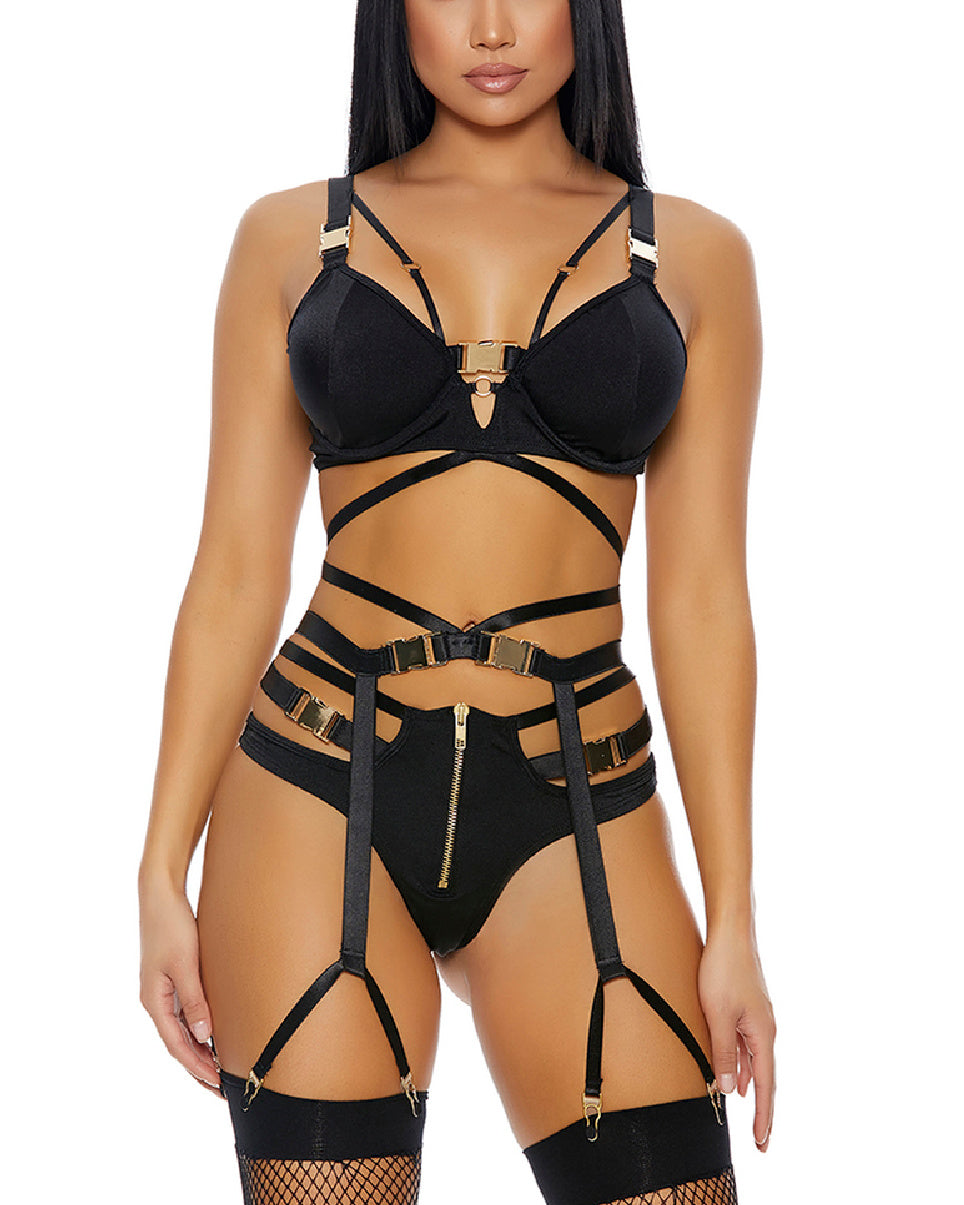 3pc Unlock Fantasy Lingerie Set