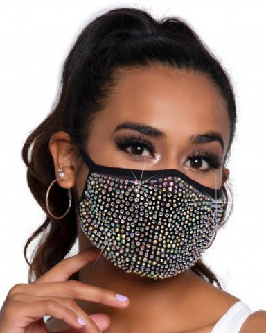 Zuri Too Much Bling Face Mask