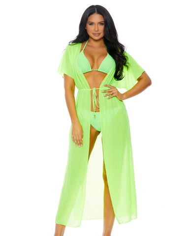 Maximum Chill 3pc Bikini and Kimono Set