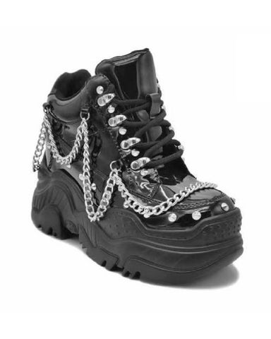 Patent Space Candy Chain Sneakers