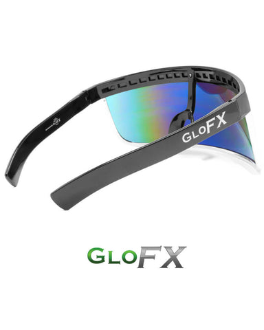 GloFX Sunglasses Visor - Rainbow Gradient