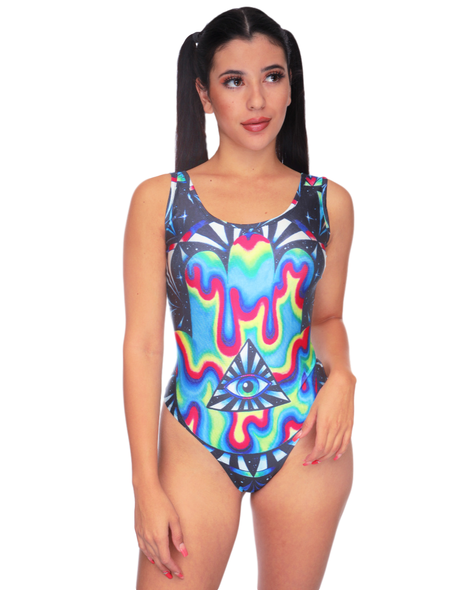 Liquid Illuminati Rave Bodysuit