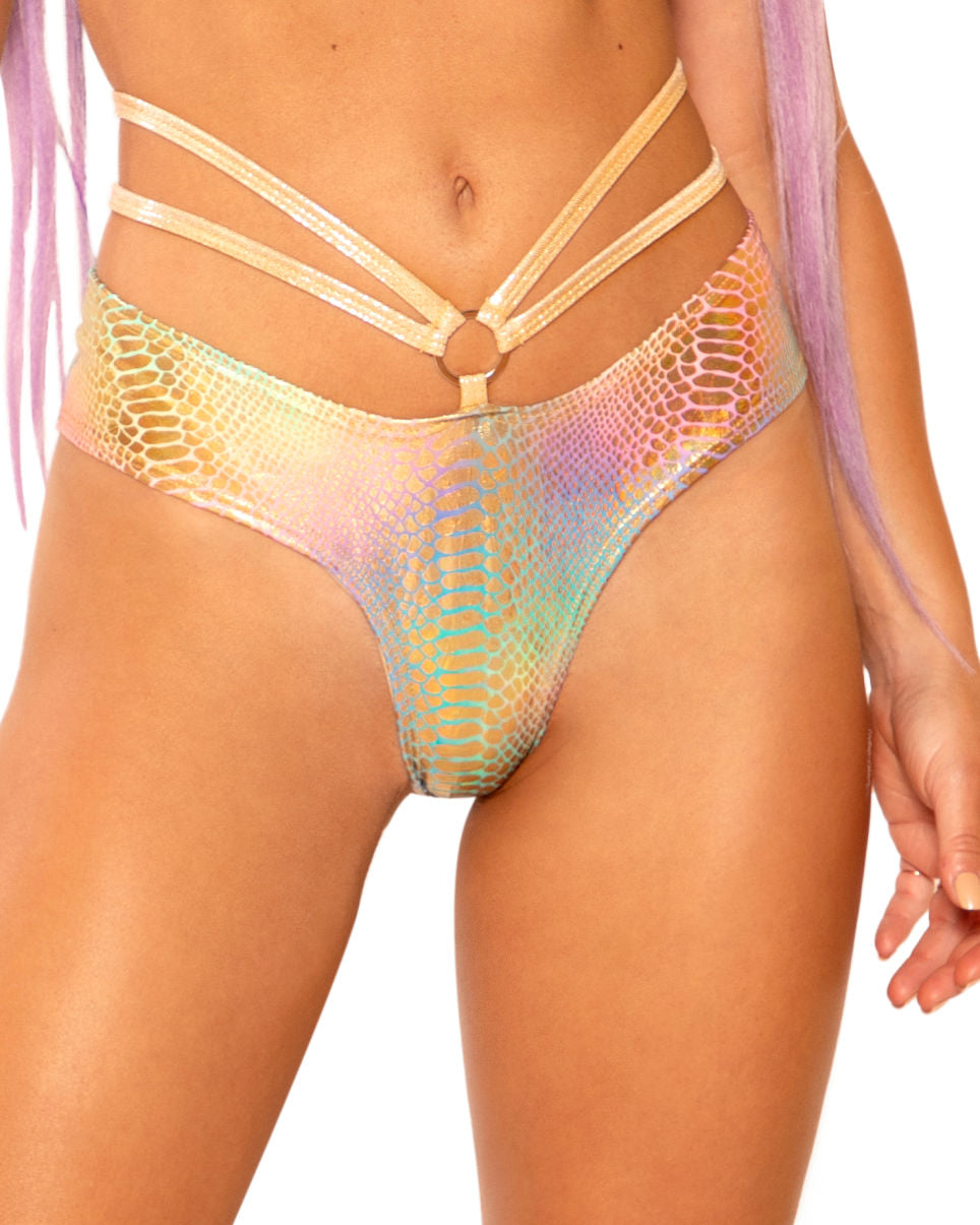 Holographic Python Strings and Rings Cheeky Shorts