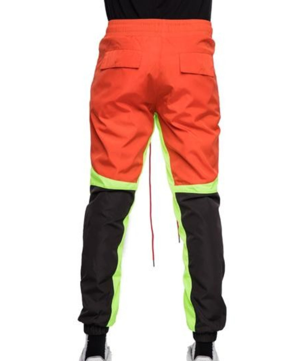 Windbreaker Color Blockade Pants