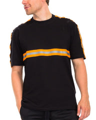 Black Reflective Tape Track T
