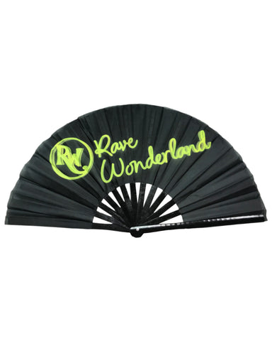 Rave Wonderland Oversized Folding Fan