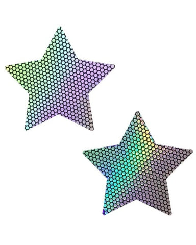 Holographic Starry Nights Pasties