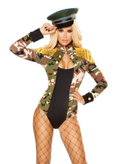 Alpha to Z Army Girl Costume