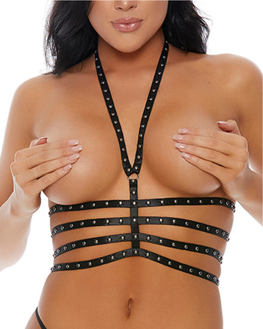 Triple Threat Studded Harness