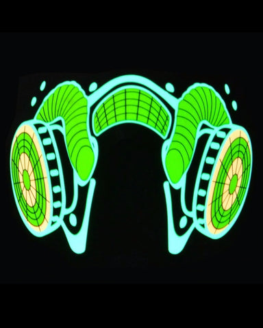Gas Mask Music Activated LED Airsoft Mask