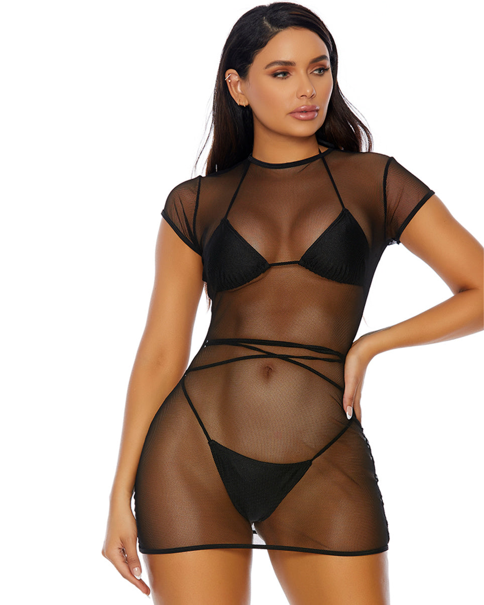 Mesh It Up Dress