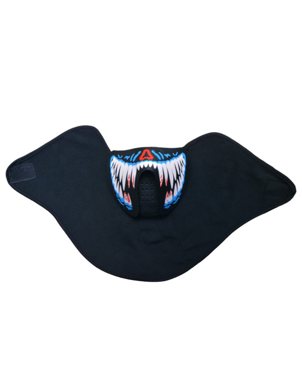 Sink Your Fangs Sound Activated LED Mask