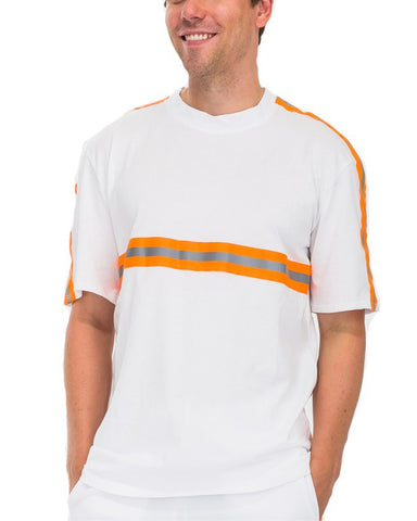 White Reflective Tape Track T