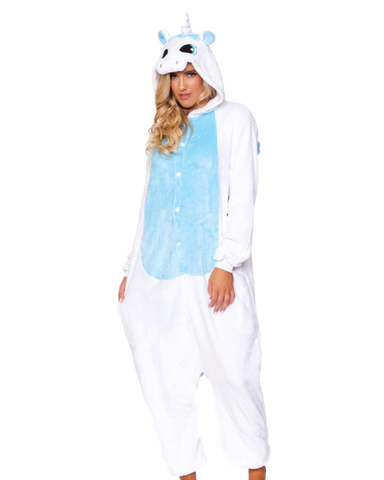 White Unicorn Unisex Onesie