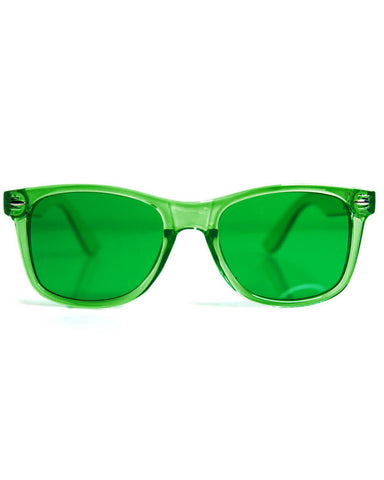 GloFX Green Color Therapy Glasses – Calm