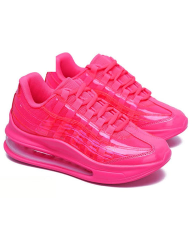 Hot Pink Atomic Sneakers