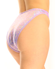 Shimmer Broken High Waist Rave Bottoms