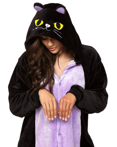 Black Kitty Cat Unisex Onesie