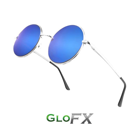 GloFX Imagine Diffraction Glasses – Blue Mirror