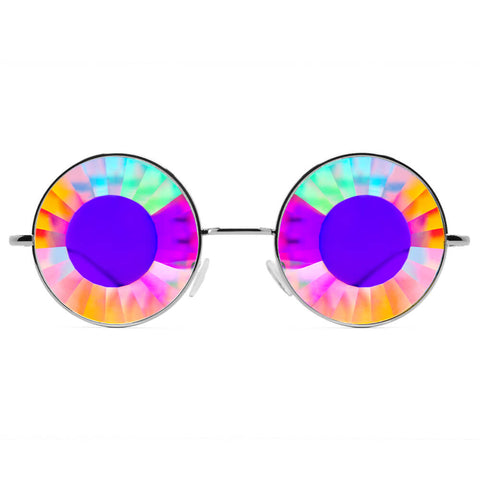 GloFX Imagine Kaleidoscope Glasses – Wormhole