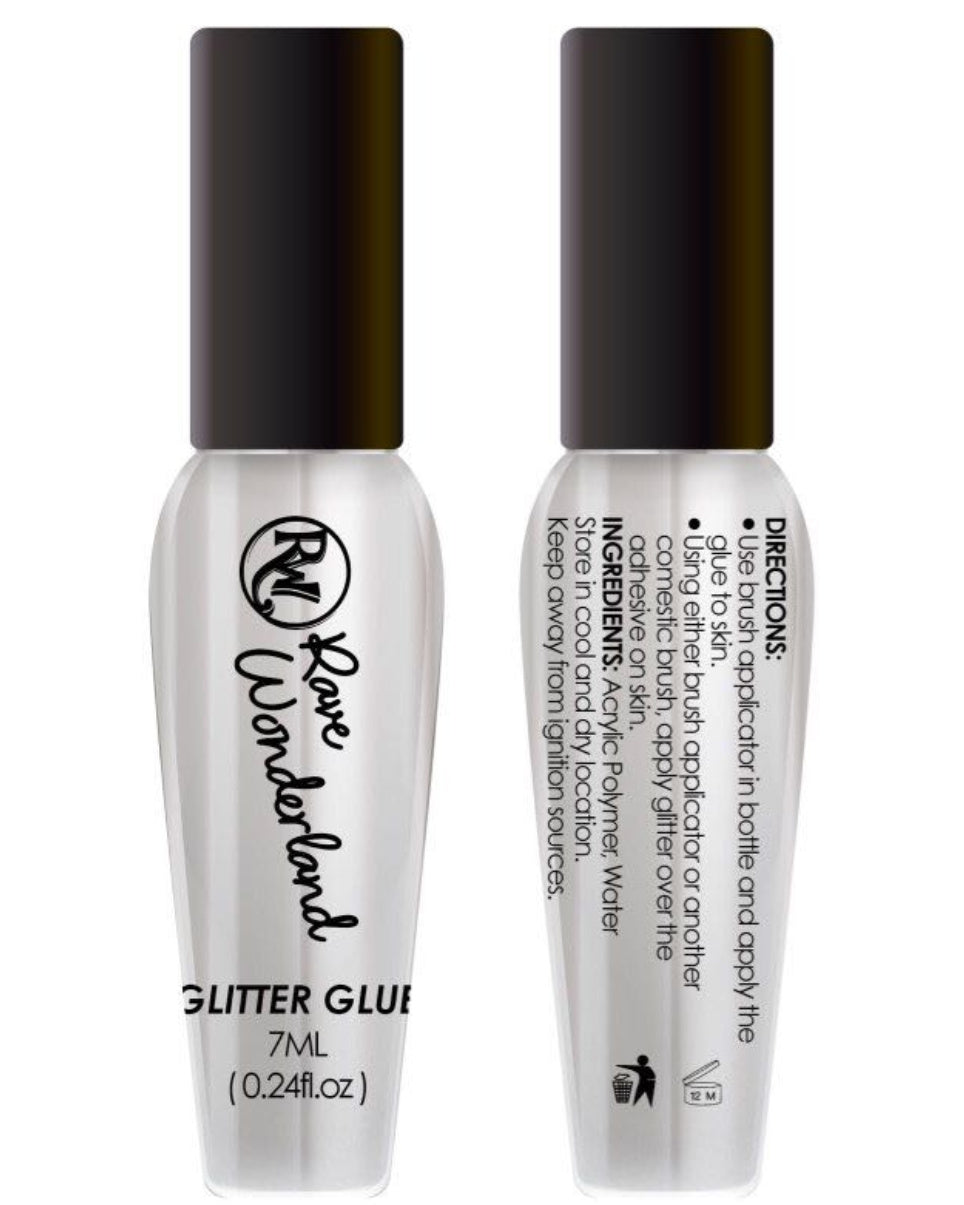 Transparent Glitter Glue