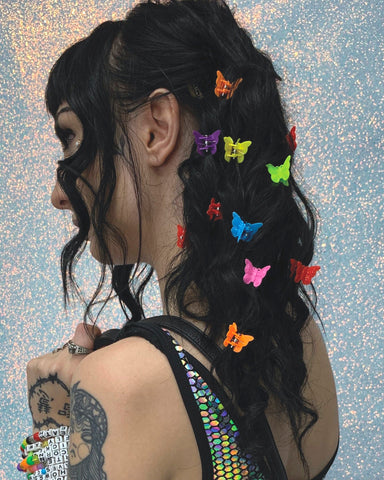 Hella Fly Butterfly Clips