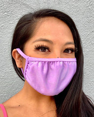 Liquid Lavender Iridescent Face Mask