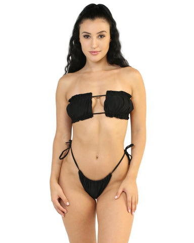 Black Summer Lovin' 2 Piece Bikini