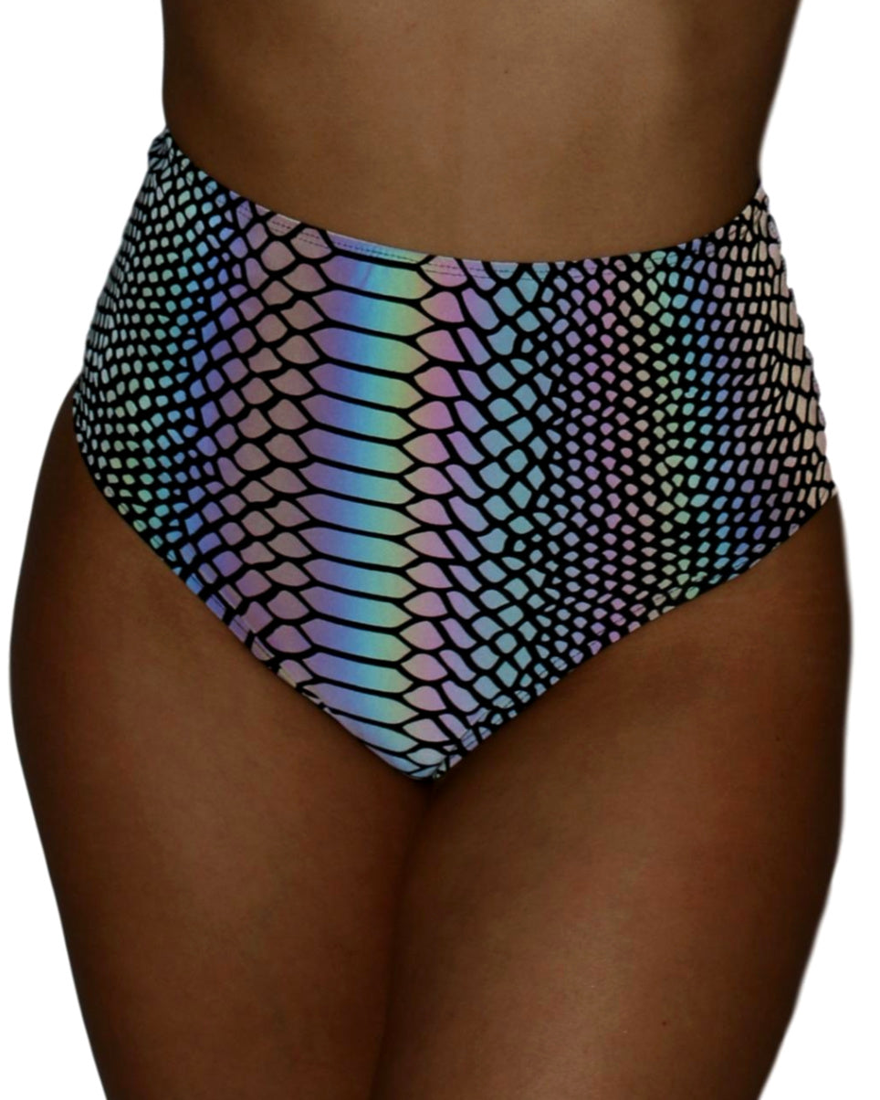 Flash Viper High Waist Cheeky Bottoms