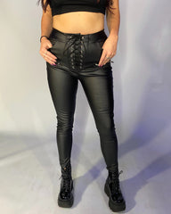 After Hours Faux Leather Pants