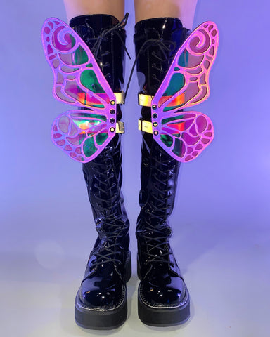 Reflective Butterfly Original Wingz Pair Shoe Attachment