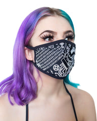 Geo Madness Reflective Surgical Face Mask