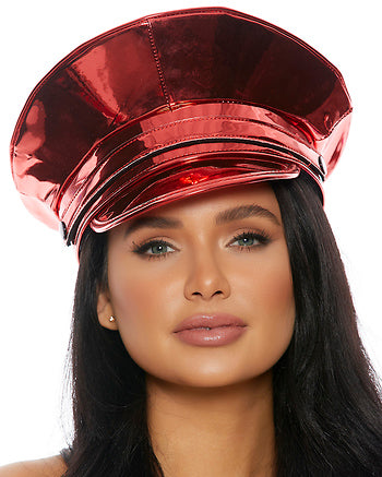 Captain Techno Metallic Hat