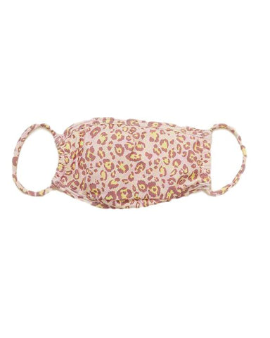 Wild Leopard Surgical Face Mask With Filter