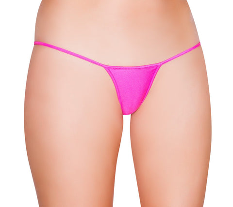 Basic Solid G-String Thong Bottoms